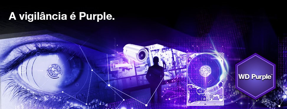 NOVOS DISCOS WESTERN DIGITAL PURPLE