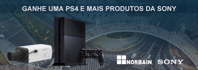 Promoção PS4 Sony-Norbain