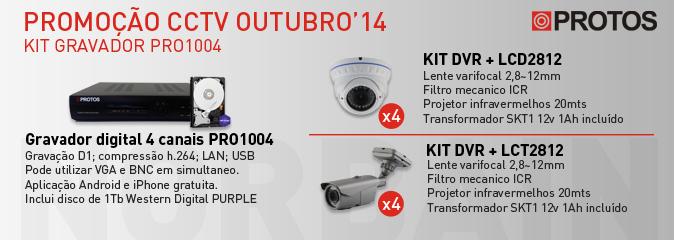 Promoção Protos CCTV
