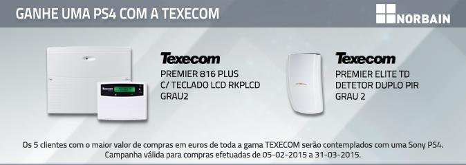 Ganhe uma PS4 com a Texecom