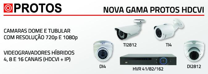 Nova gama Protos HDCVI